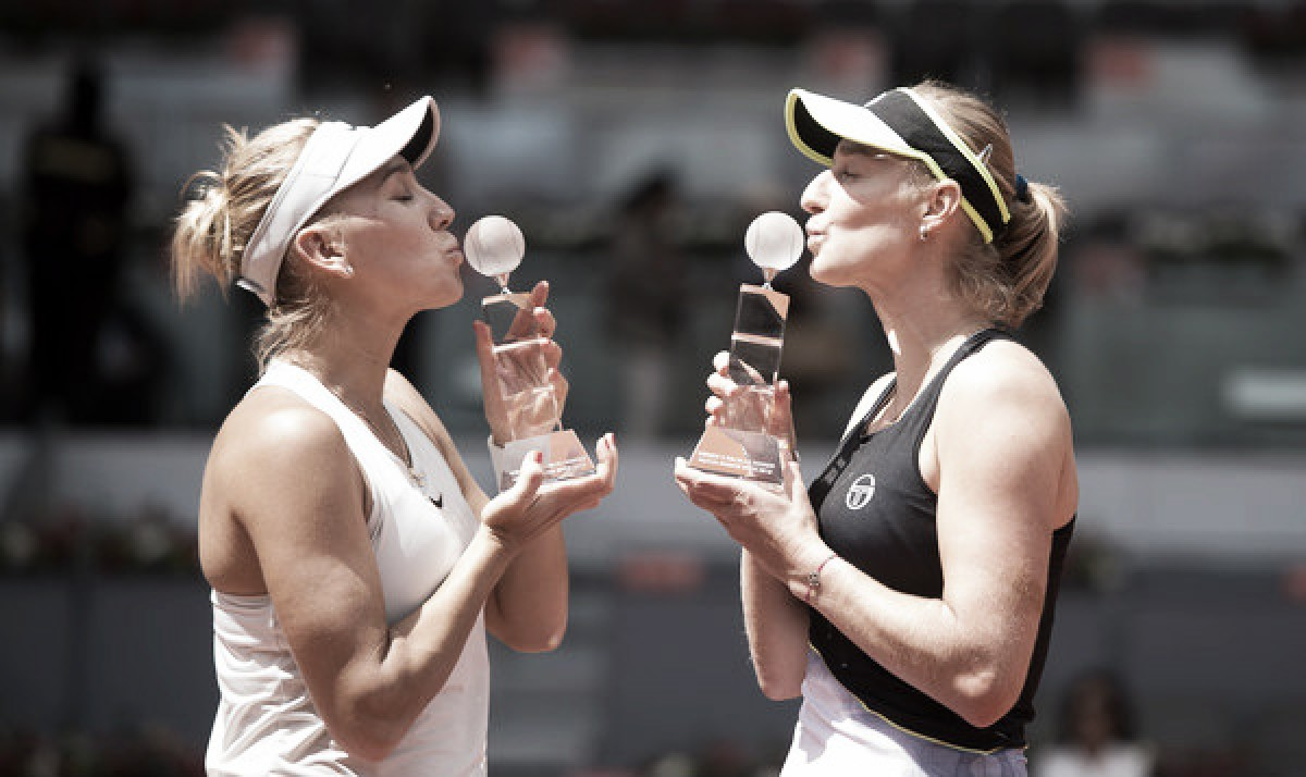 WTA Madrid: Makarova/Vesnina edges closer to number one ranking after triumphing against Babos/Mladenovic