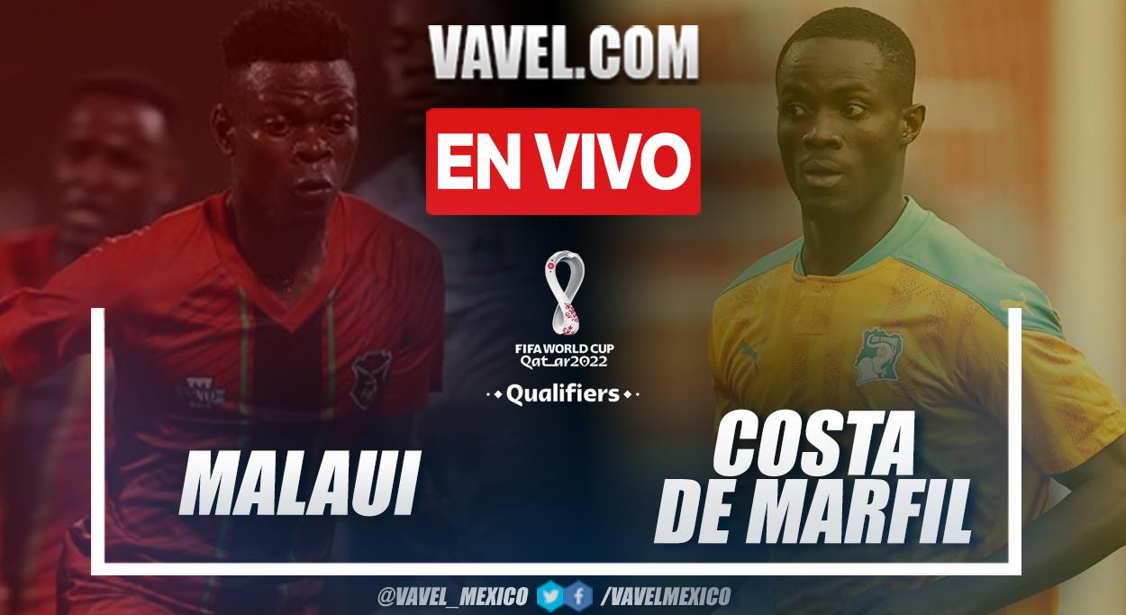 Resumen y goles: Malaui 0-3 Costa de Marfil en eliminatorias a Catar 2022