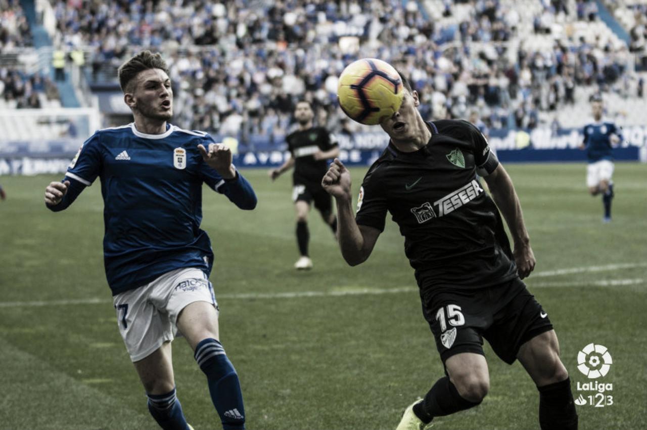 """Buena imagen del Oviedo ante uno de los """"gallos"""" de la categoría"""