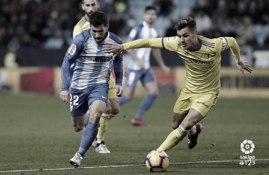 La caída del Málaga en la segunda vuelta