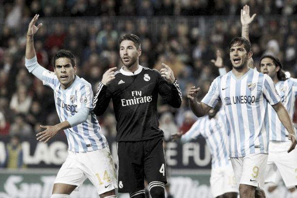 El Málaga da la cara ante un Madrid de ensueño