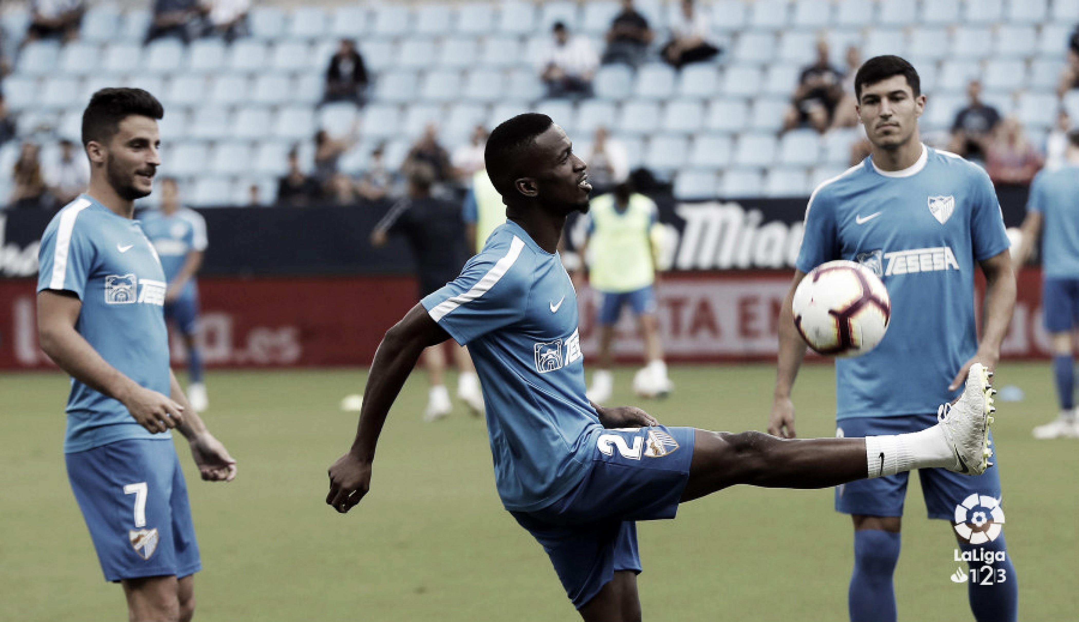 Derrota del Málaga en la segunda ronda de Copa
