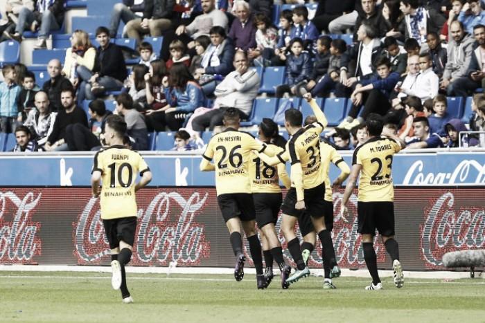 El Málaga suma un punto que vale oro
