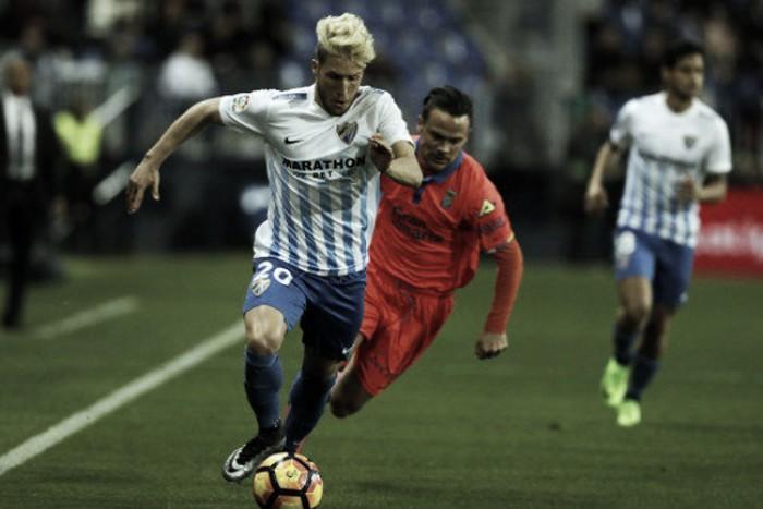 Liga, il Malaga torna alla vittoria contro il Las Palmas (2-1)