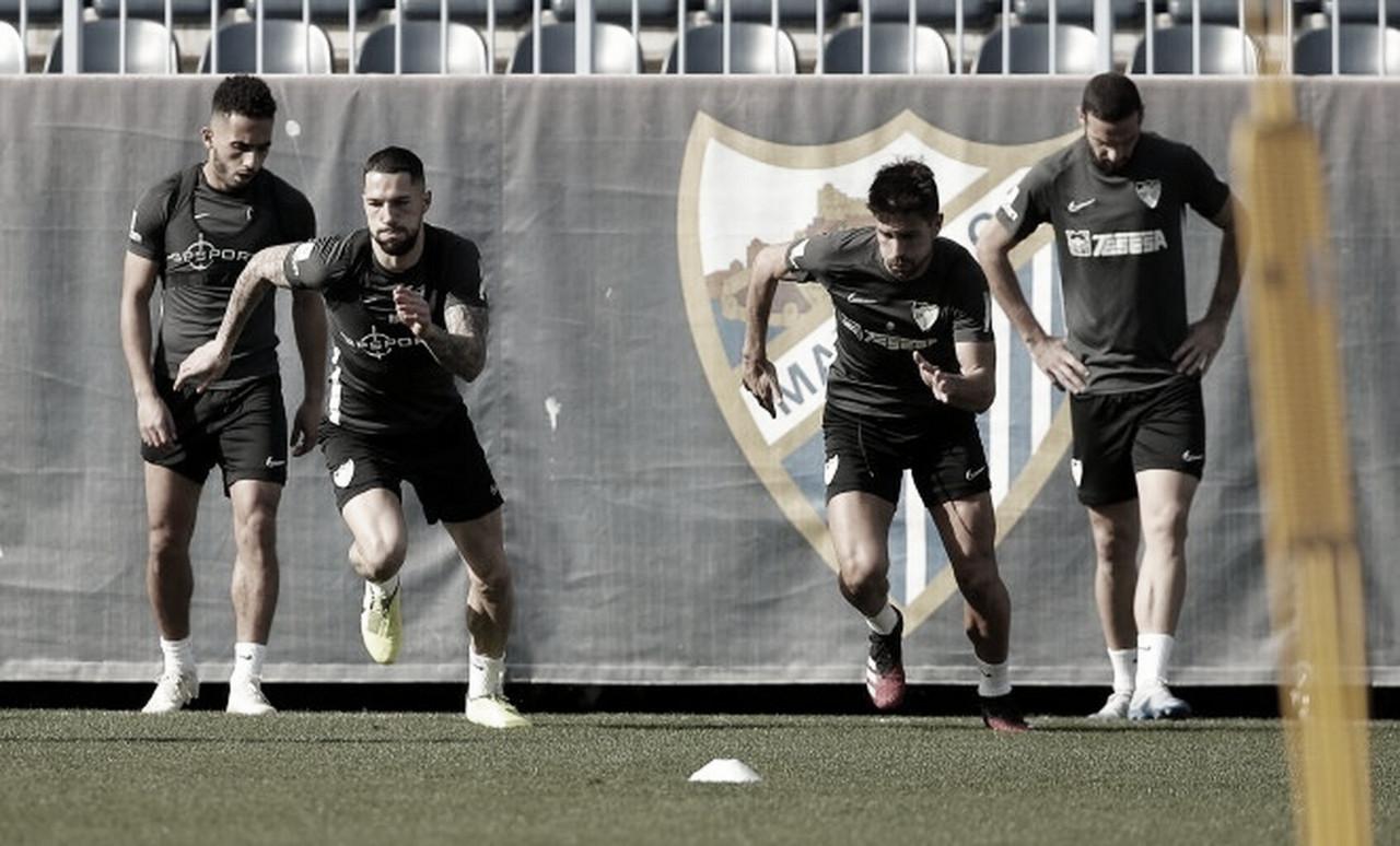 Regresan los entrenamientos en grupo al Málaga