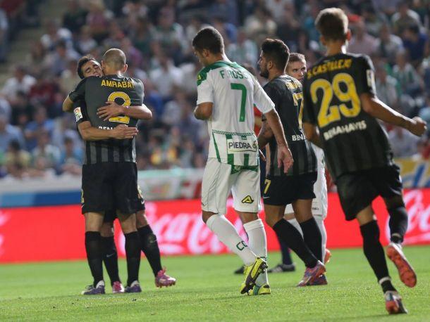 El Málaga desahucia al Córdoba de la Liga BBVA
