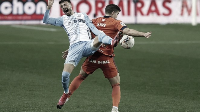 Málaga CF consigue su primer punto en eLaLiga Santander