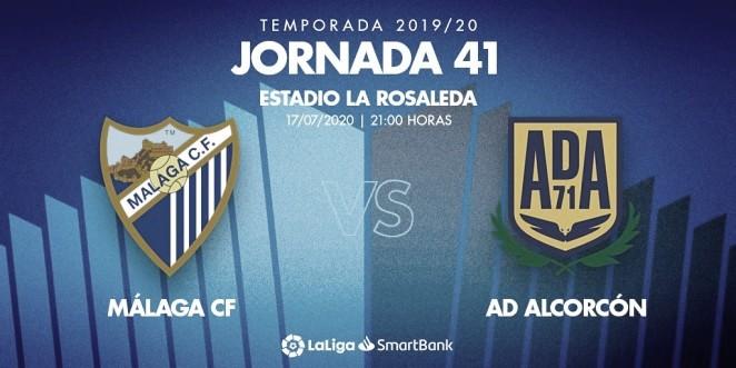 Previa Málaga CF - A.D. Alcorcón: examen final