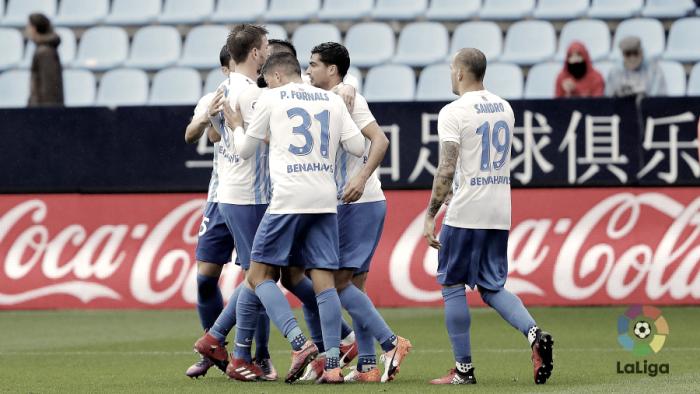 Málaga - Deportivo: puntuaciones del Málaga, jornada 13 La Liga 2016