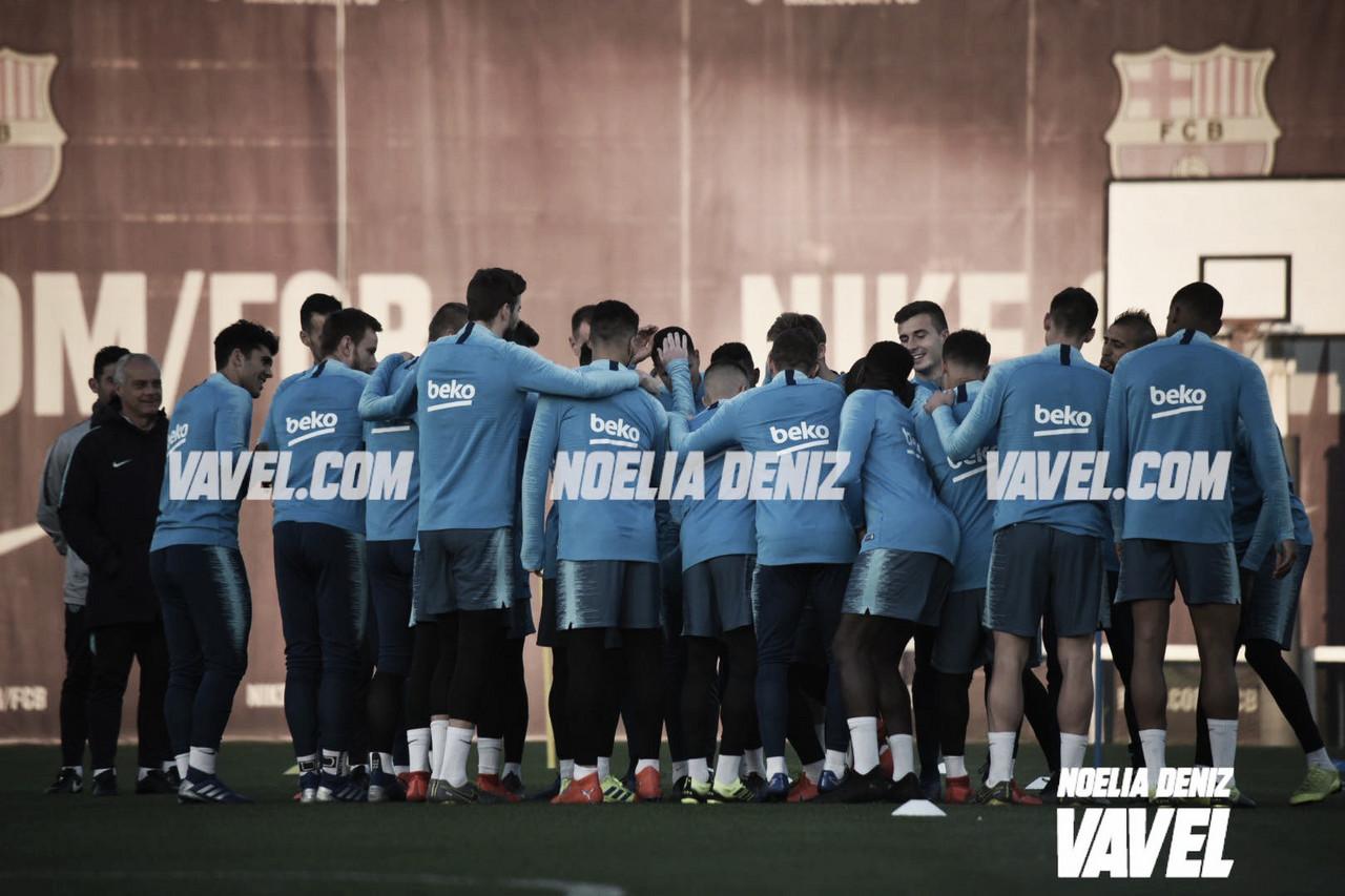 Último entrenamiento antes de pisar el Bernabéu