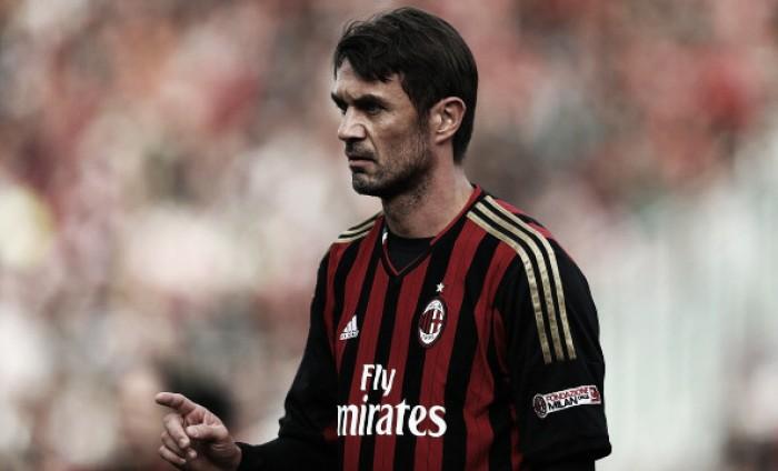 """Maldini dispara contra diretoria do Milan: """"Não existe comando no clube atualmente"""""""