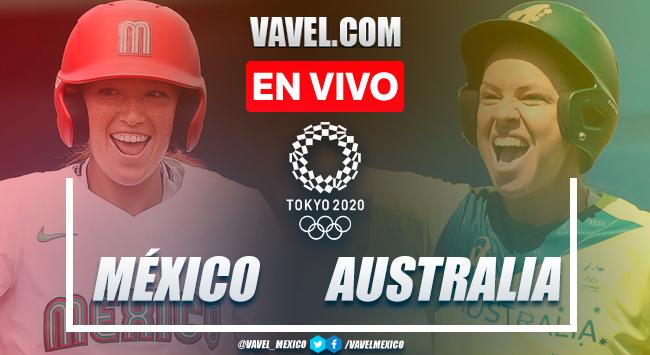 Resumen y carreras: México 4-1 Australia por Sóftbol Juegos Olímpicos de Tokio 2020