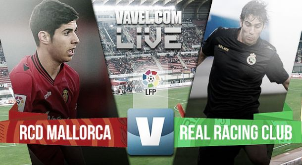 Resultado Mallorca vs Racing de Santander en la Liga Adelante 2015 (2-3)