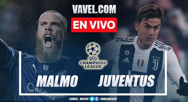 Goles y resumen del Malmo 0-3 Juventus en UEFA Champions League 2021