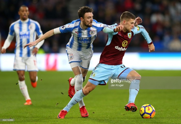 """""""We're well on the way,"""" says midfielder Scott Malone as Huddersfield draw against Burnley"""