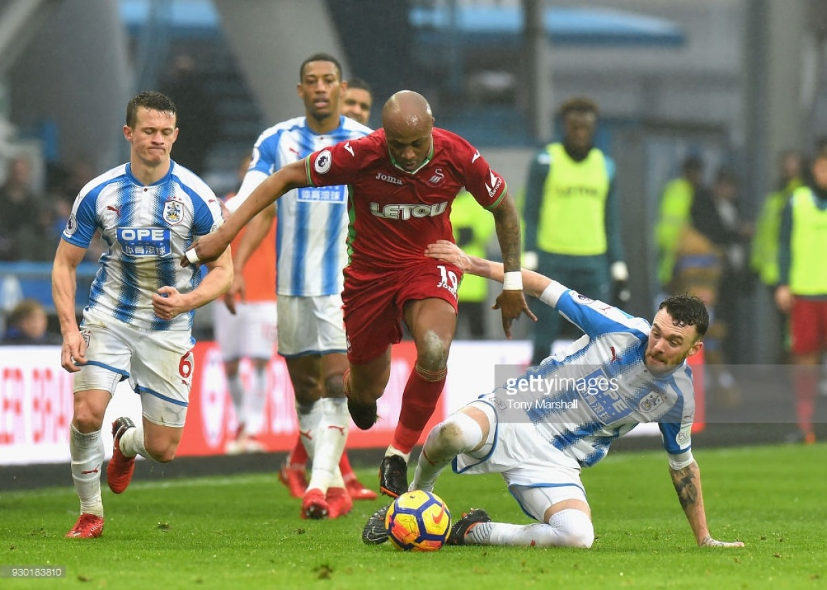 Scott Malone berates Huddersfield's lack of a goalscoring touch following Swansea City draw