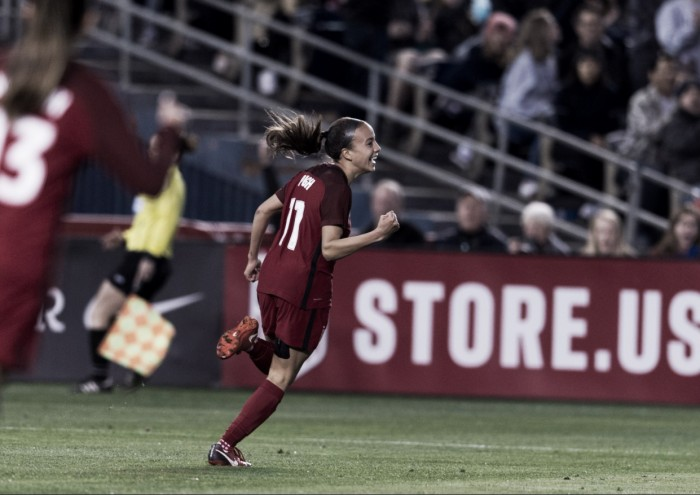 Three takeaways from the USWNT's 5-1 victory over Denmark