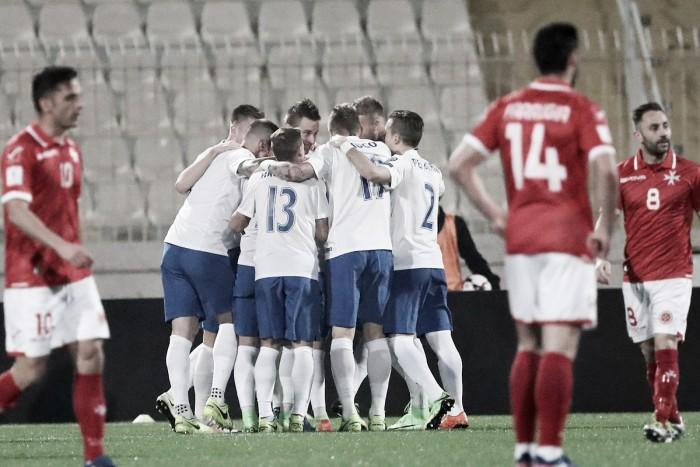 Qualificazioni Russia 2018 - La Slovacchia regola Malta (3-1)