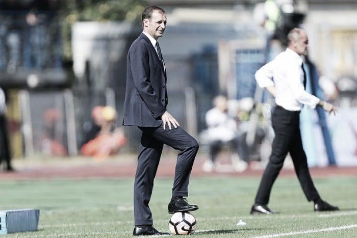 Allegri afirma que 'maturidade' da Juventus fez a diferença após vitória sobre Atalanta