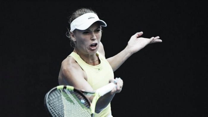 Wozniacki a paso firme en Australia