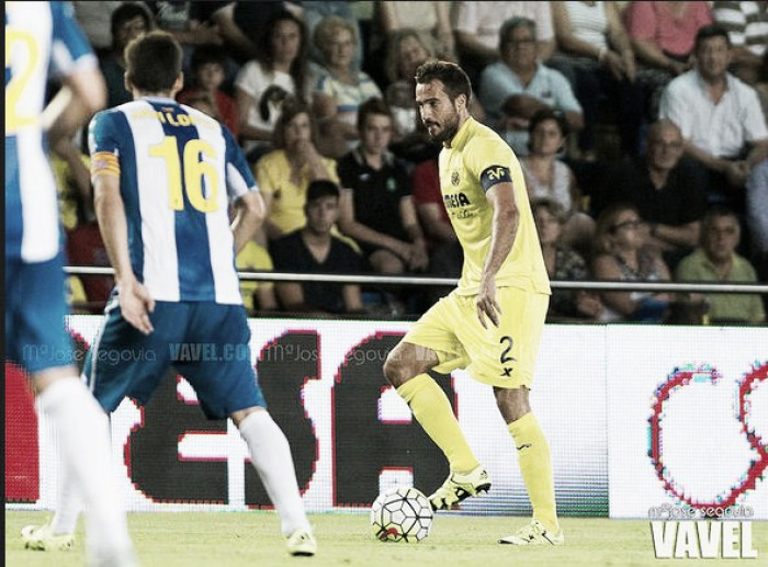 Mario Gaspar, único jugador de la plantilla en marcar en Cornellà el Prat