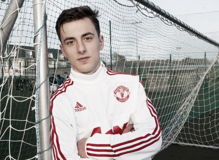Manchester United sign Irish U16 Captain to Academy Team