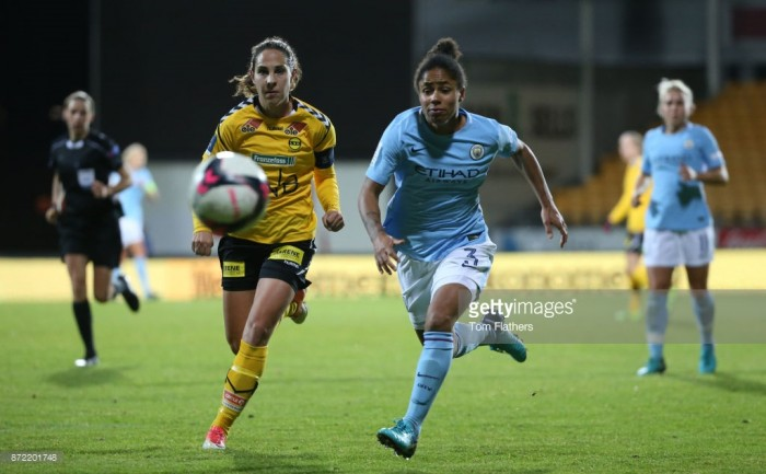 UEFA Women's Champions League – LSK 0-5 Manchester City: Rout in Norway