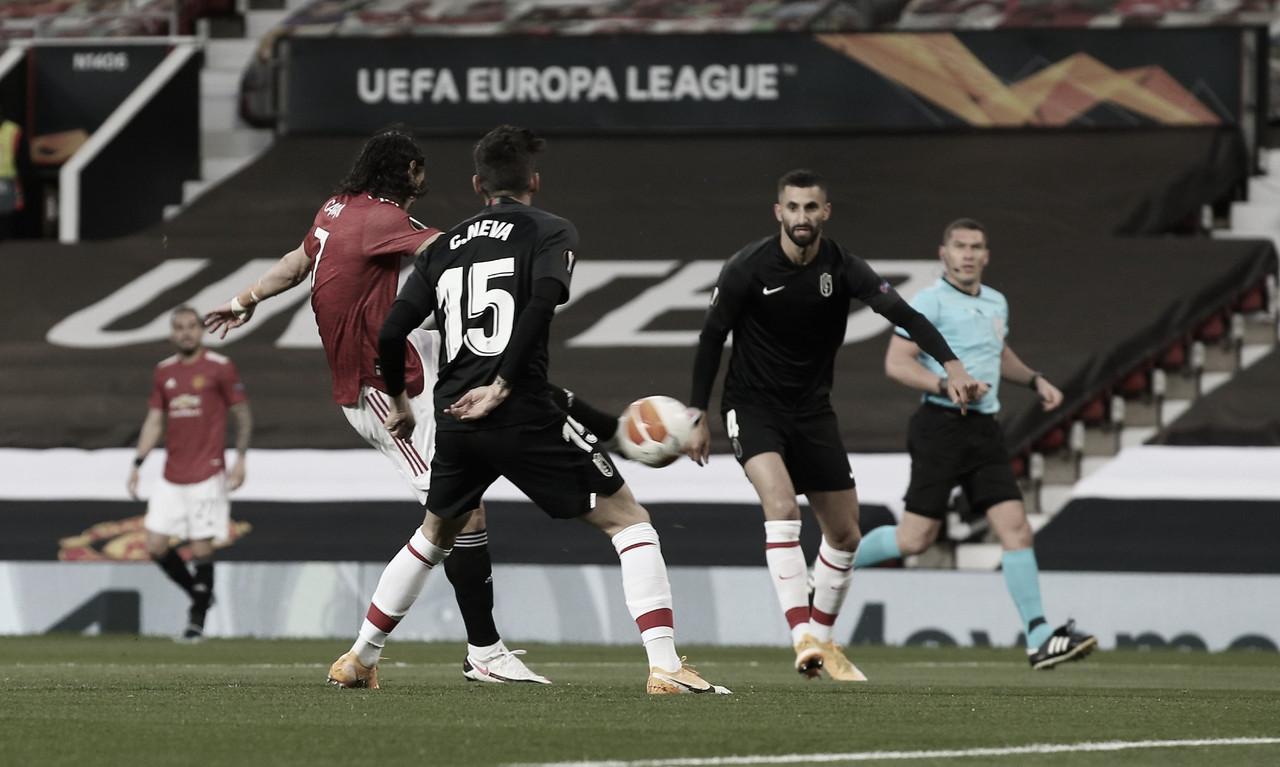 Manchester United repete placar do jogo de ida, vence Granada e garante classificação às semifinais da Europa League