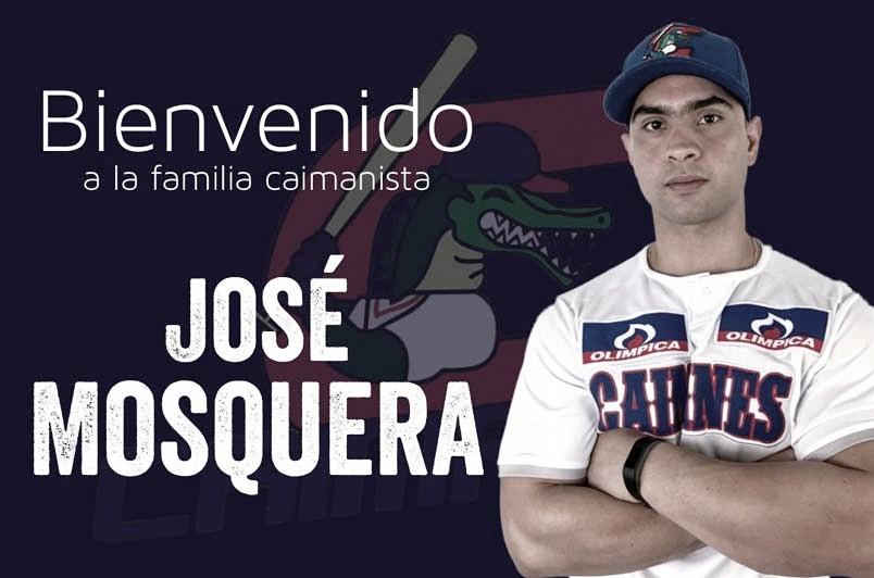 José Mosquera, nuevo mánager de Caimanes de Barranquilla