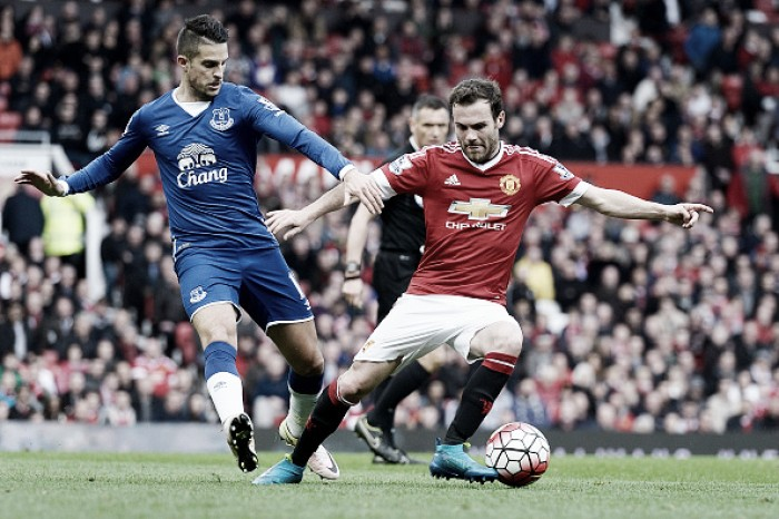 Everton - Manchester United: As it happened