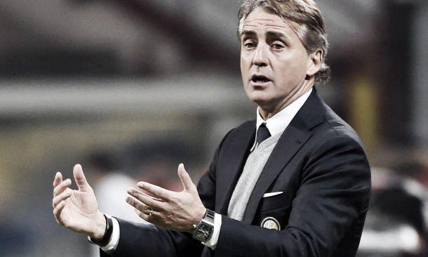 """Inter, Mancini: """"Non sento il peso, è una partita importante. Vincere ci darebbe entusiasmo"""""""