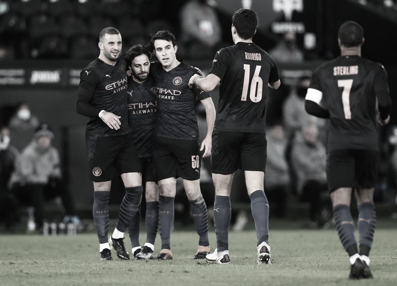 Plácida victoria del Manchester City