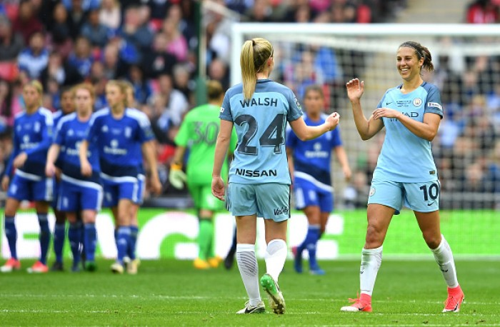 Carli Lloyd goal helps Manchester City to first FA Cup title