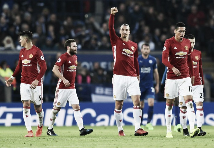 Premier League, il Manchester United passeggia sul Leicester di Ranieri: 0-3 al King Power Stadium