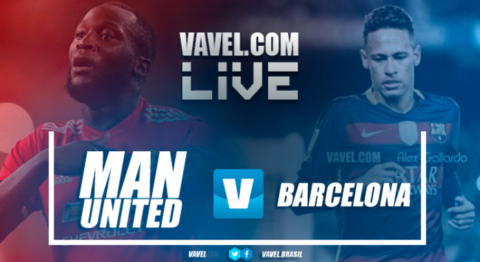 Manchester United vs Barcelona Live Score Stream (1-0)