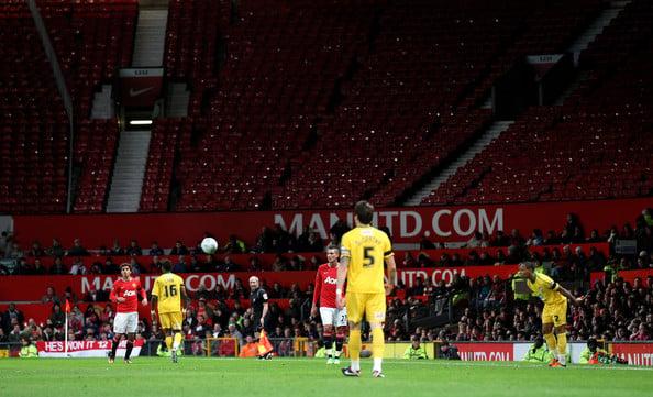 Manchester United (B) sorti en Coupe de la Ligue