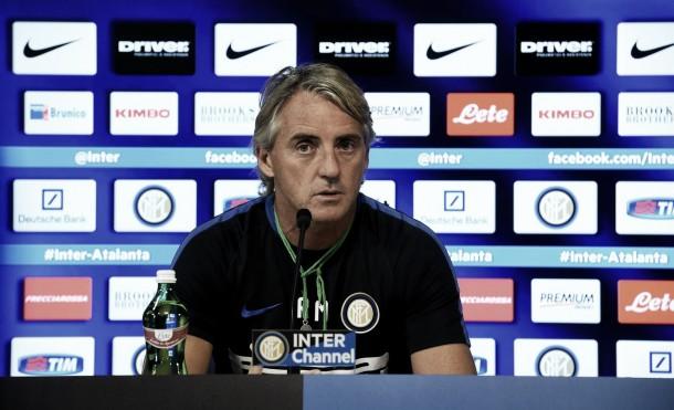"""Mancini: """"Per lo Scudetto Napoli, Fiorentina e Juventus davanti a noi. Dura con la Lazio"""""""