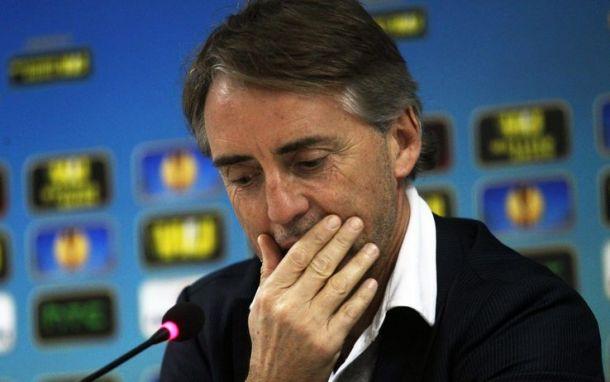 """Roberto Mancini: """"Wolfsburg squadra completa, ma noi siamo l'Inter"""""""