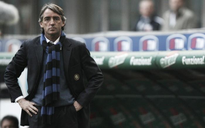 """Mancini amaro: """"Dobbiamo migliorare la fase offensiva. É la terza partita che buttiamo via"""""""