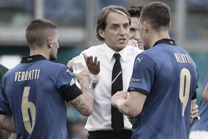 """Roberto Mancini: """"No podríamos haberlo hecho mejor"""""""