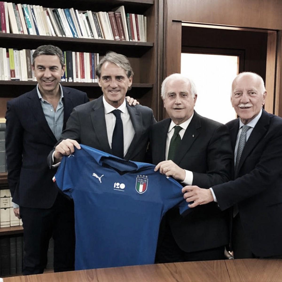 Mancini toma los mandos de la 'Nazionale'