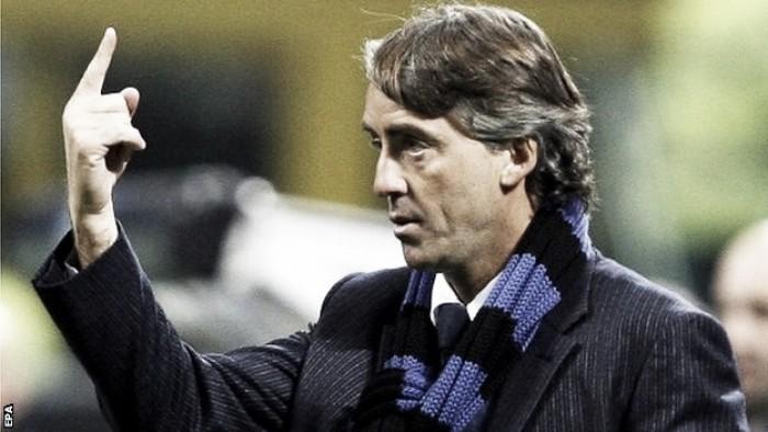 """Dopo il Chievo c'è l'Hellas. Mancini: """"Dobbiamo chiudere le gare. Icardi e Jovetic? Non possono giocare tutti"""""""