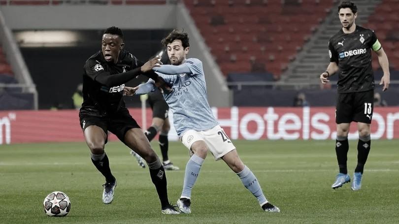 Manchester City domina e bate Borussia Mönchengladbach sem dificuldades nas oitavas da Champions