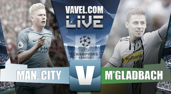 Partita Manchester City vs Borussia Mönchengladbach in Champions League 2016/17 (RINVIATA)