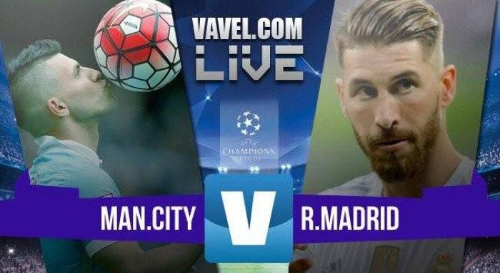 Manchester City - Real Madrid, Champions League 2016 (0-0): Jesè e Pepe sfiorano il colpaccio