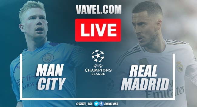 Manchester City vs Real Madrid: Live Stream Online TV Updates and How to Watch Champions League 2020 (1-1)