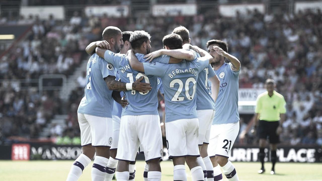 Un doblete del Kun Agüero da la victoria al Manchester City
