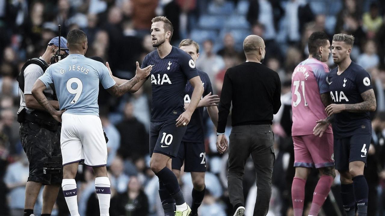 Resumen del Tottenham 2-0 Manchester City en Premier League 2020