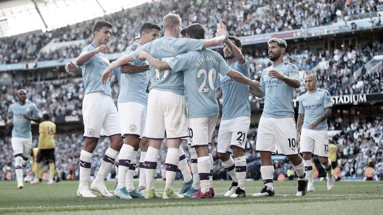 Goleada histórica del Manchester City que deja en evidencia al Watford de Quique