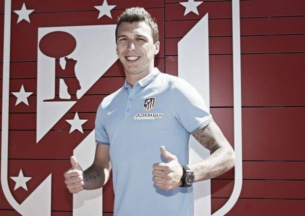 Atlético de Madrid anuncia contratação do atacante croata Mario Mandzukic